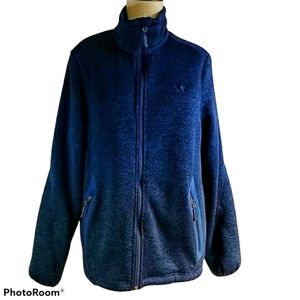 Columbia Performance Jacket Coat Sherpa Lined Blue
